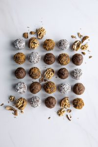 Webster Roasted Walnut Maple Spiced Protein Balls